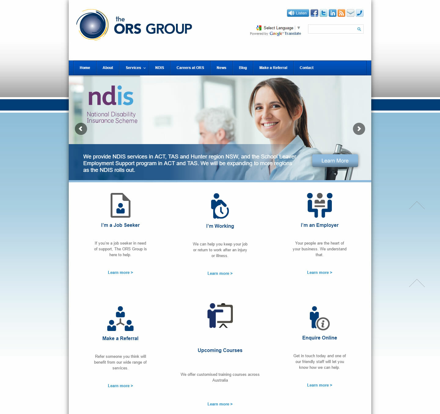 ORS Group Website